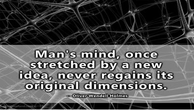 the mind that is stretched