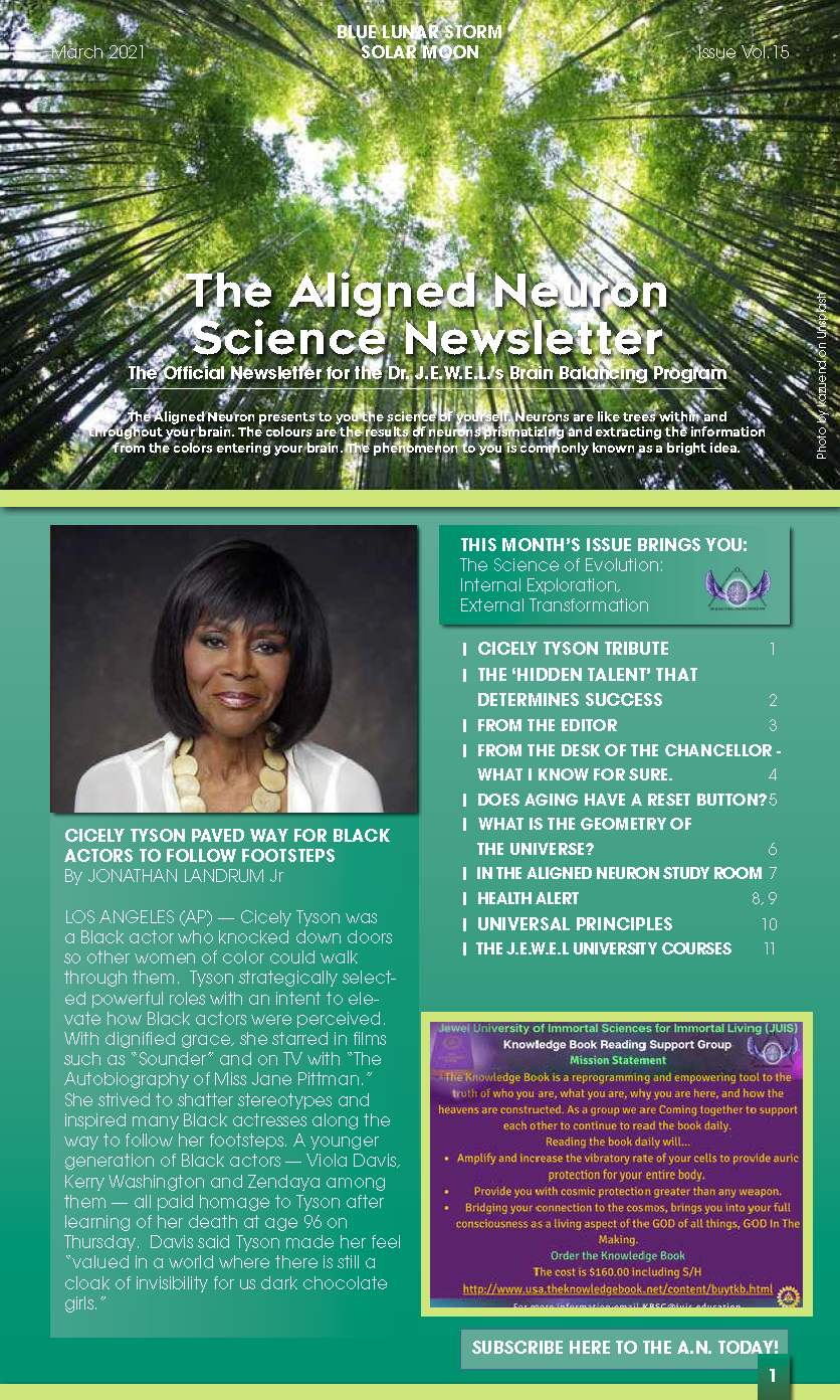 The Aligned Neuron Science Newsletter _